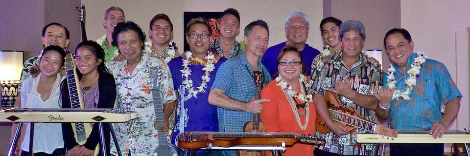 Kaua'i Steel Guitar Festival Artists and Musicians