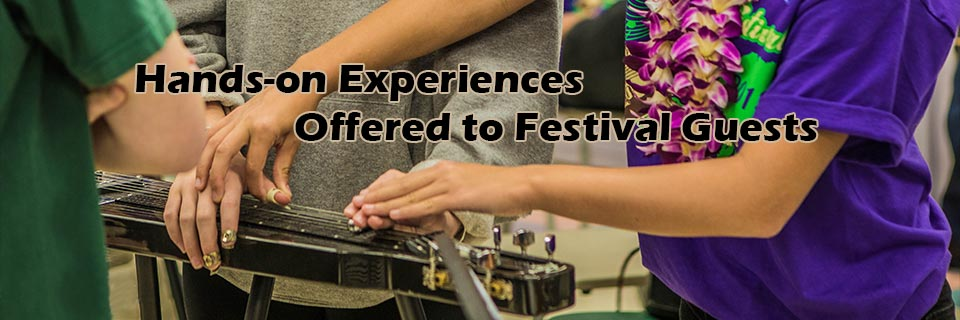Hands-on Experiences Offered to Festival Guests